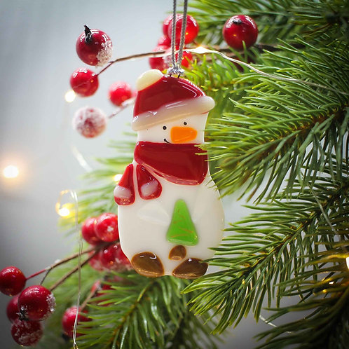 Новогодняя игрушка 'Снеговичок'