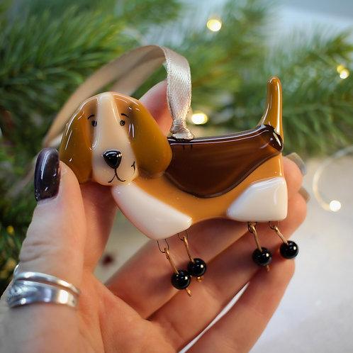 Новогодняя игрушка 'Бигль'
