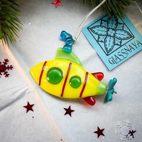 Новогодняя игрушка 'Субмарина'
