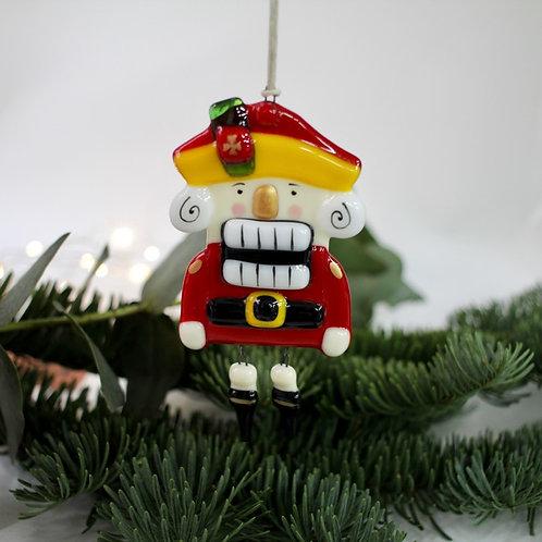 Новогодняя игрушка 'Щелкунчик' (красный)