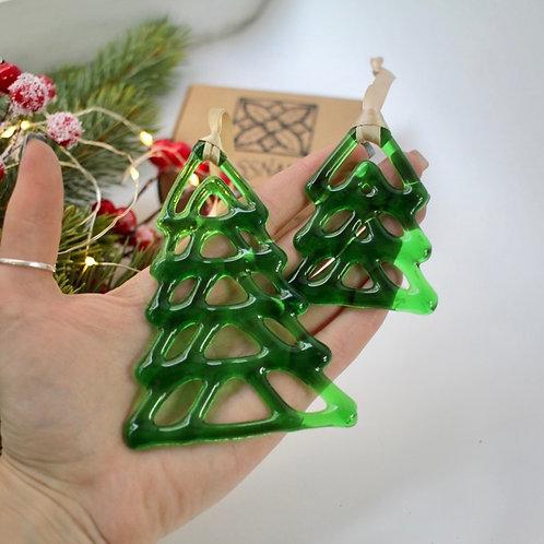 Новогодняя игрушка 'Ажурная ель'