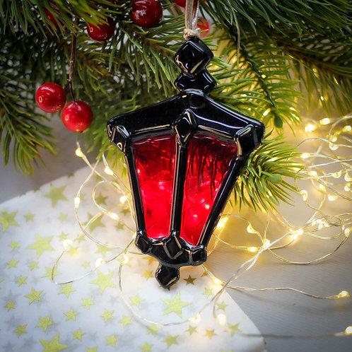Новогодняя игрушка 'Волшебный фонарь'