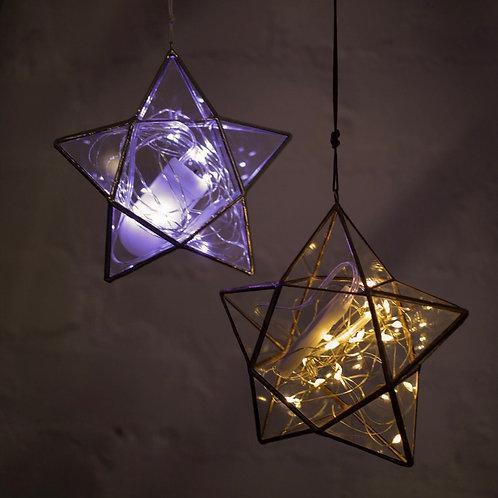 Декор 'Звезда с огоньками'