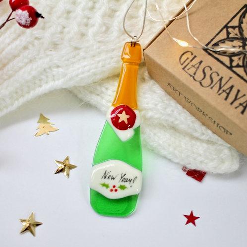 Новогодняя игрушка 'Шампанское'