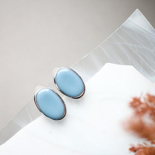 Серьги 'Конфетки' (голубые)