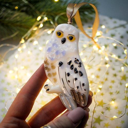 Новогодняя игрушка 'Полярная сова'