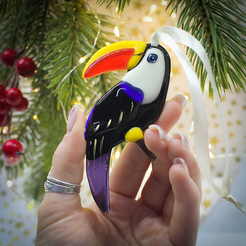 Новогодняя игрушка 'Тукан'