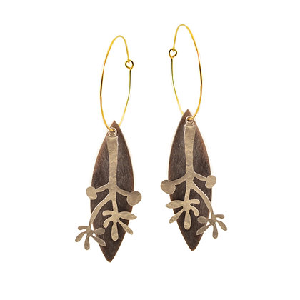 MATISSE LEAVES EARRINGS