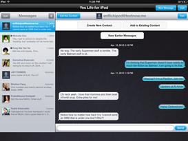 Native Chat Application - iPad