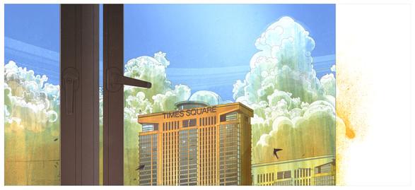 Room View - Digital Illustration