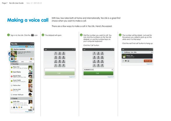 Yes Communicator User Manual