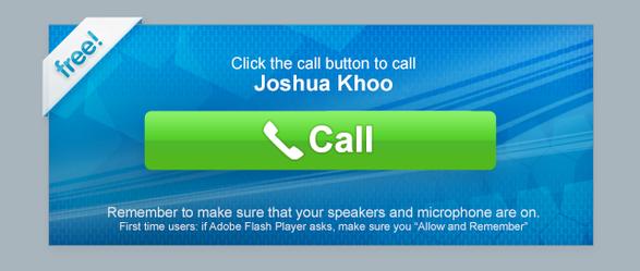 VoIP Widget - YTL/Yes