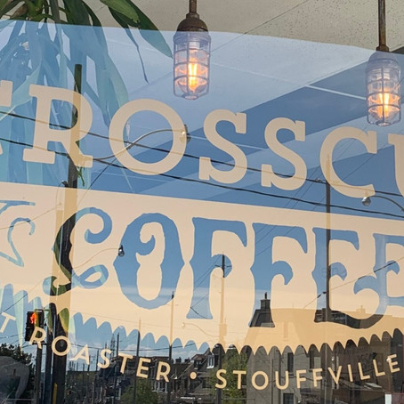 Crosscut Coffee - Brewed at a Distance