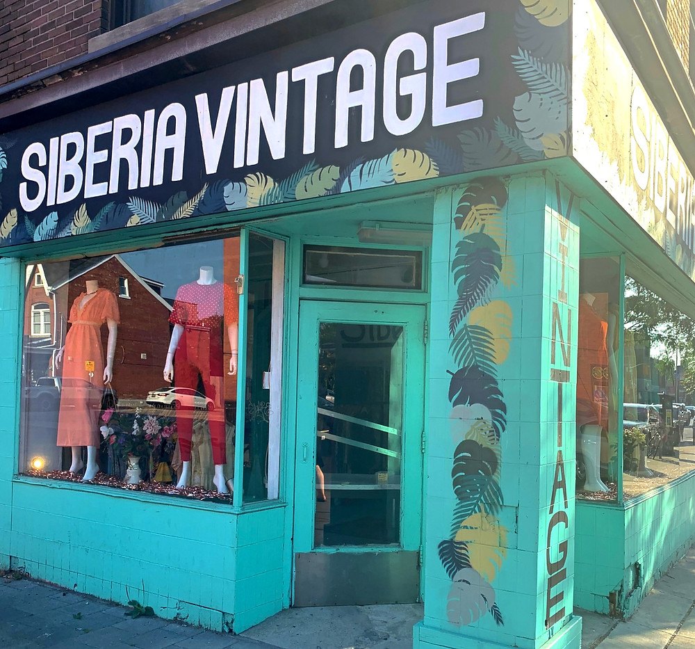 best vintage stores & thrift shopping in Toronto