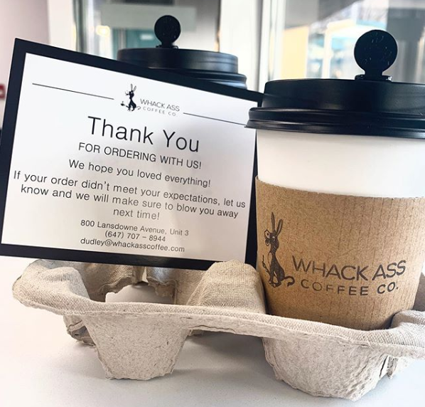Whack Ass Coffee great customer service