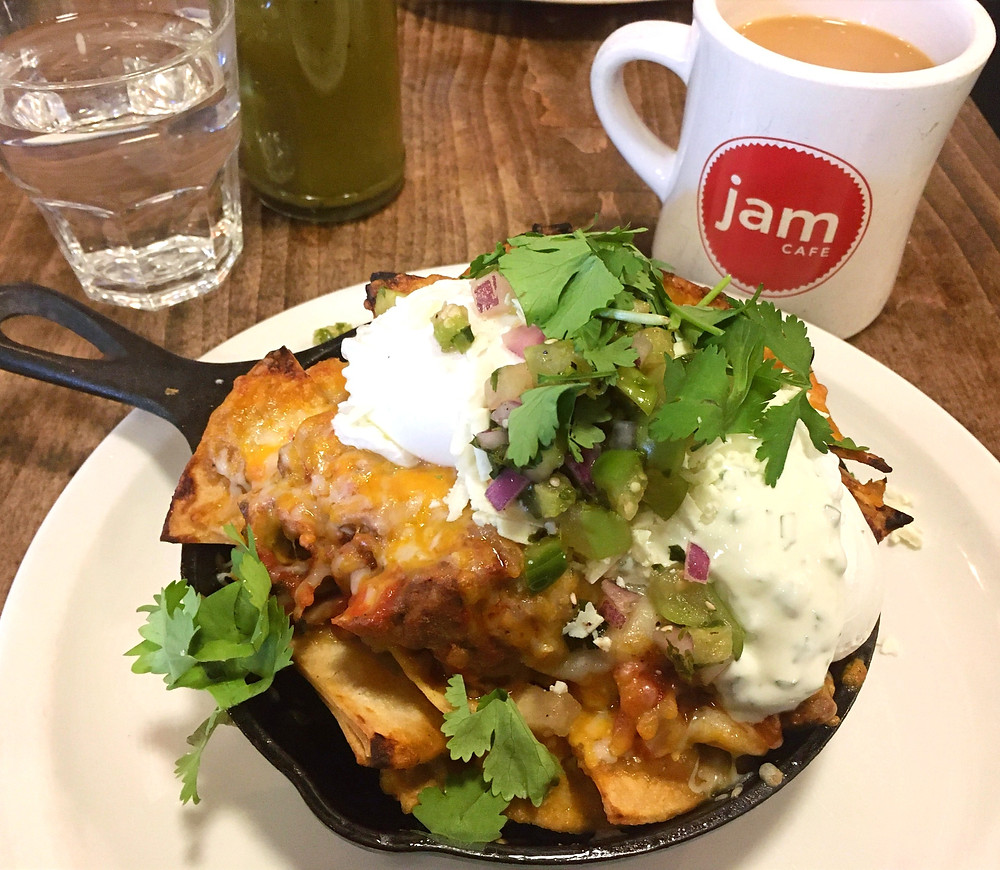 Mexican-inspired brunch from Jam Cafe Vancouver