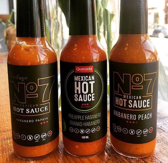 No. 7 hot sauce flavours