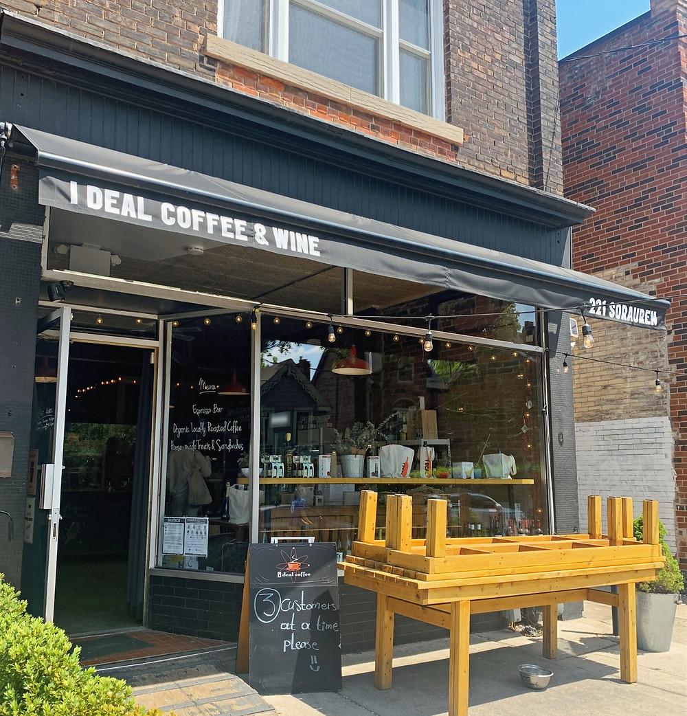 I DEAL Coffee & Wine Sorauren storefront