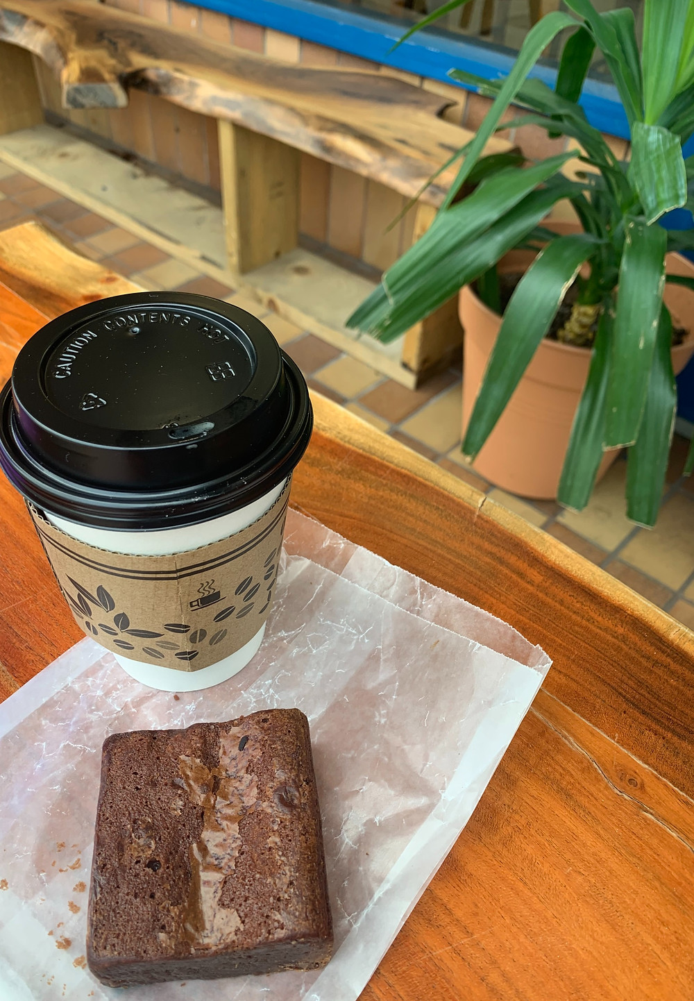 Caravan Cafe & Tea House Toronto coffee and pastry combo deal
