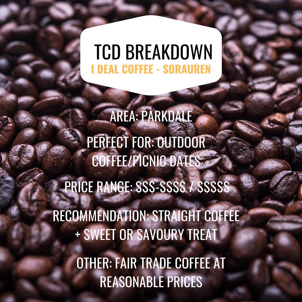 I DEAL Coffee & Wine Sorauren recommendation
