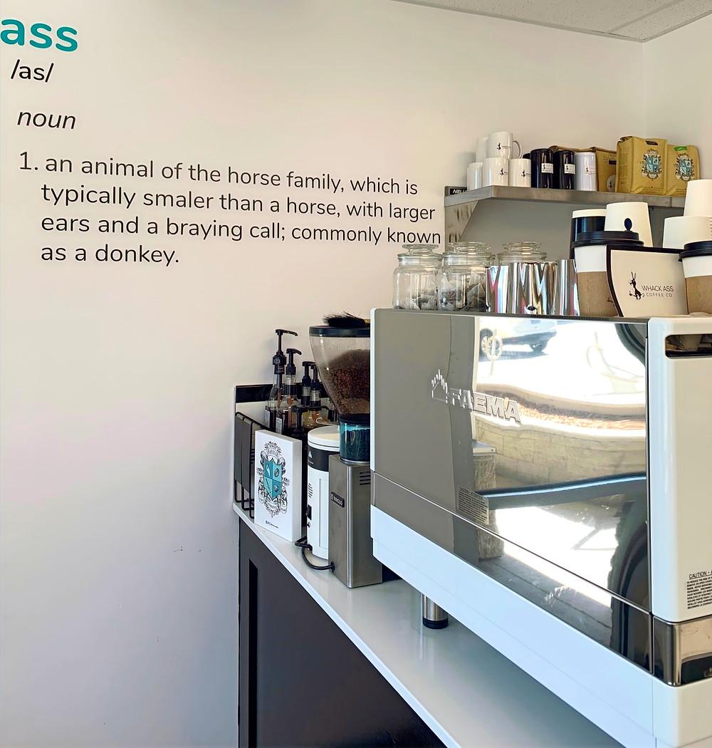Whack Ass Coffee shop new Toronto cafe