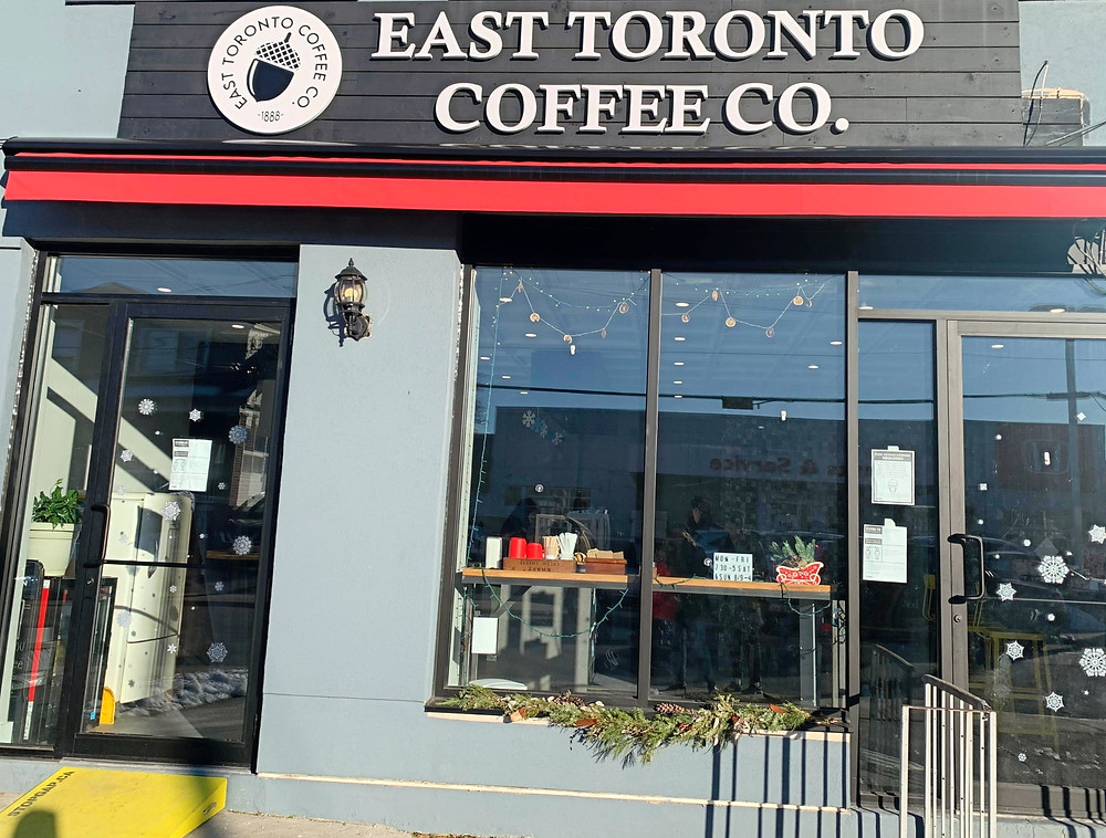 East Toronto Coffee Co Danforth cafe accessible