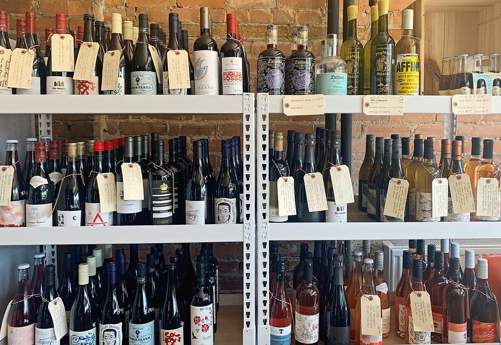 I DEAL Coffee & Wine Sorauren wine selection