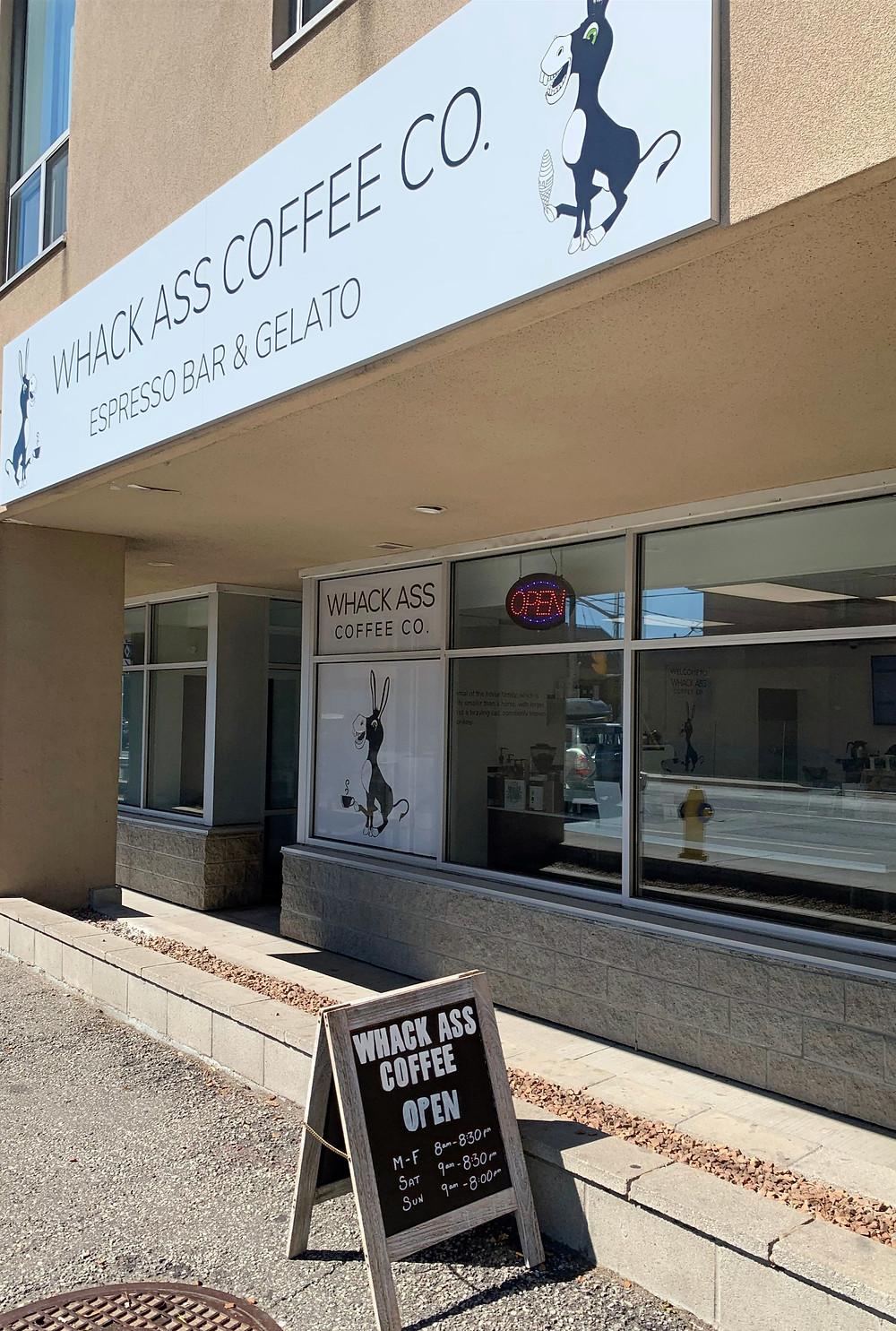 Whack Ass Coffee near Lansdowne Dupont coffee shop
