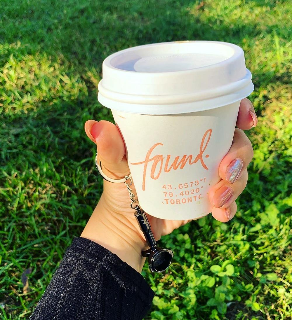 Found Coffee Pumpkin Spice Latte Best in Toronto Kensington Market