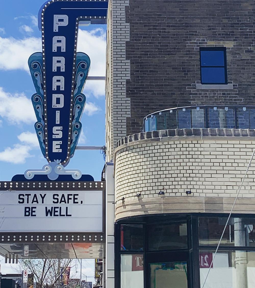 Paradise Theatre independent cinema Toronto west-end