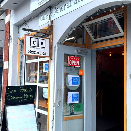 UB Social Café & General Store - Brewed at a Distance