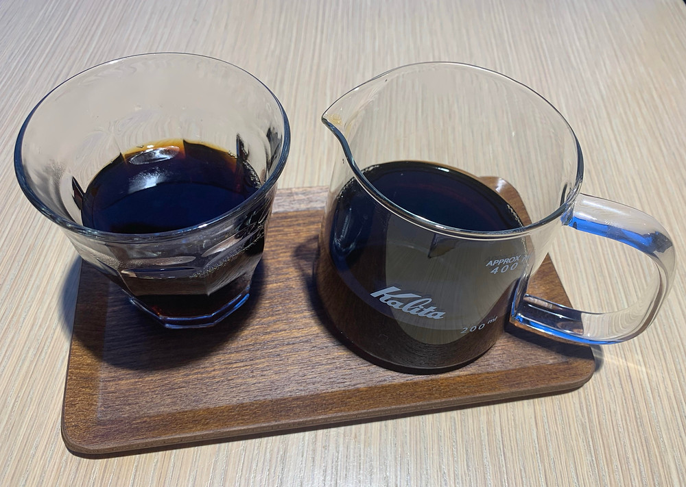 Kenyan pour over from Forno Cultura