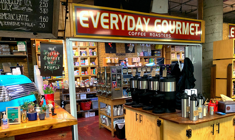Everyday Gourmet in St. Lawrence Market South Building bottom floor stall