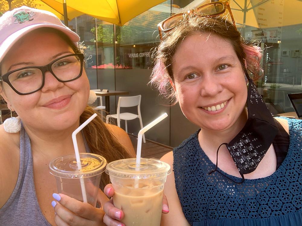 Coffee patio downtown Toronto