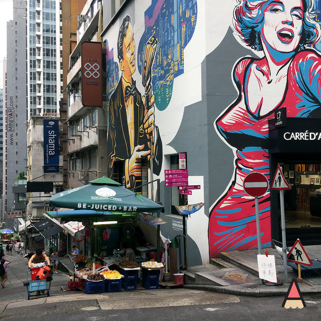 Central: Queen's Road, Hollywood Road & SoHo