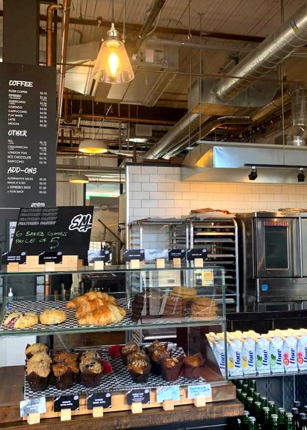 Saving Mondays Toronto coffee shop and bakery interior