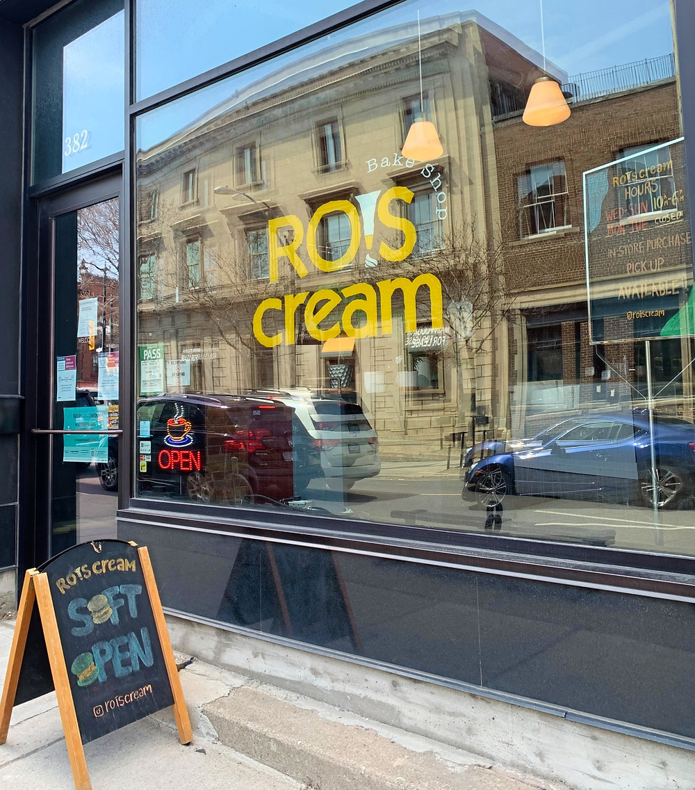 Rois Cream coffee shop and bakery Toronto Junction