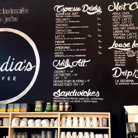 Claudia's Coffee - Brewed at a Distance