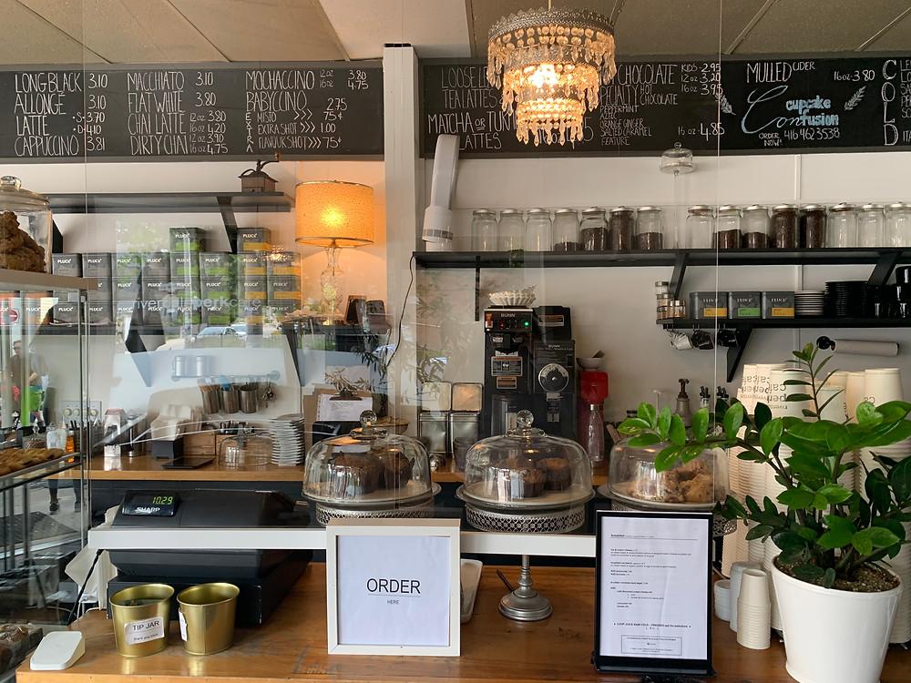 Riverdale Perk Cafe Toronto East End coffee shop