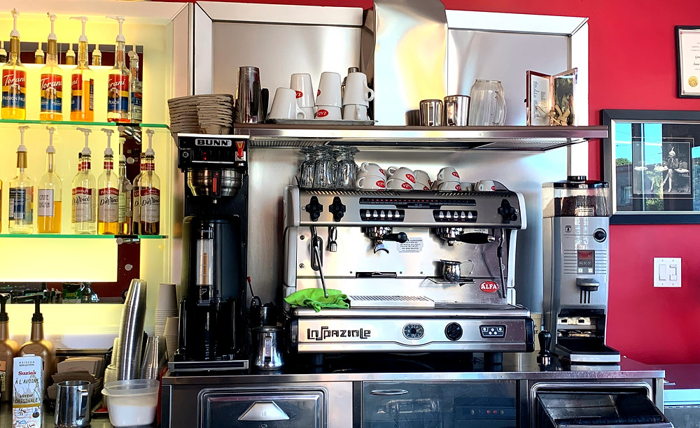 ZAZA Espresso Bar St Clair coffee shop