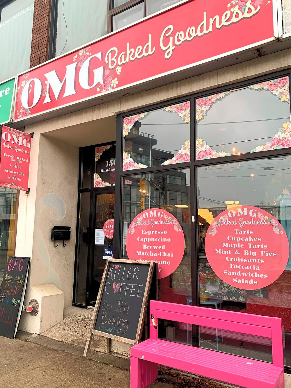 OMG Baked Goodness 1561 Dundas St W bakery and cafe