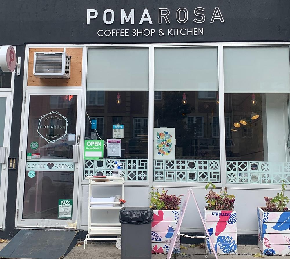 Pomarosa Coffee Shop & Kitchen Toronto in East Danforth