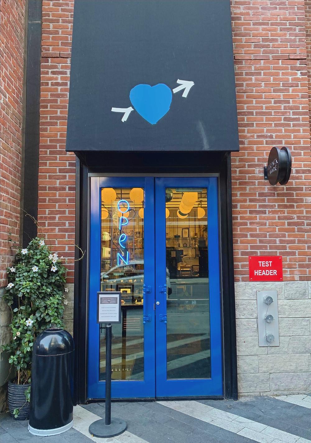 French Made coffee shop BISHA Hotel King St W Toronto
