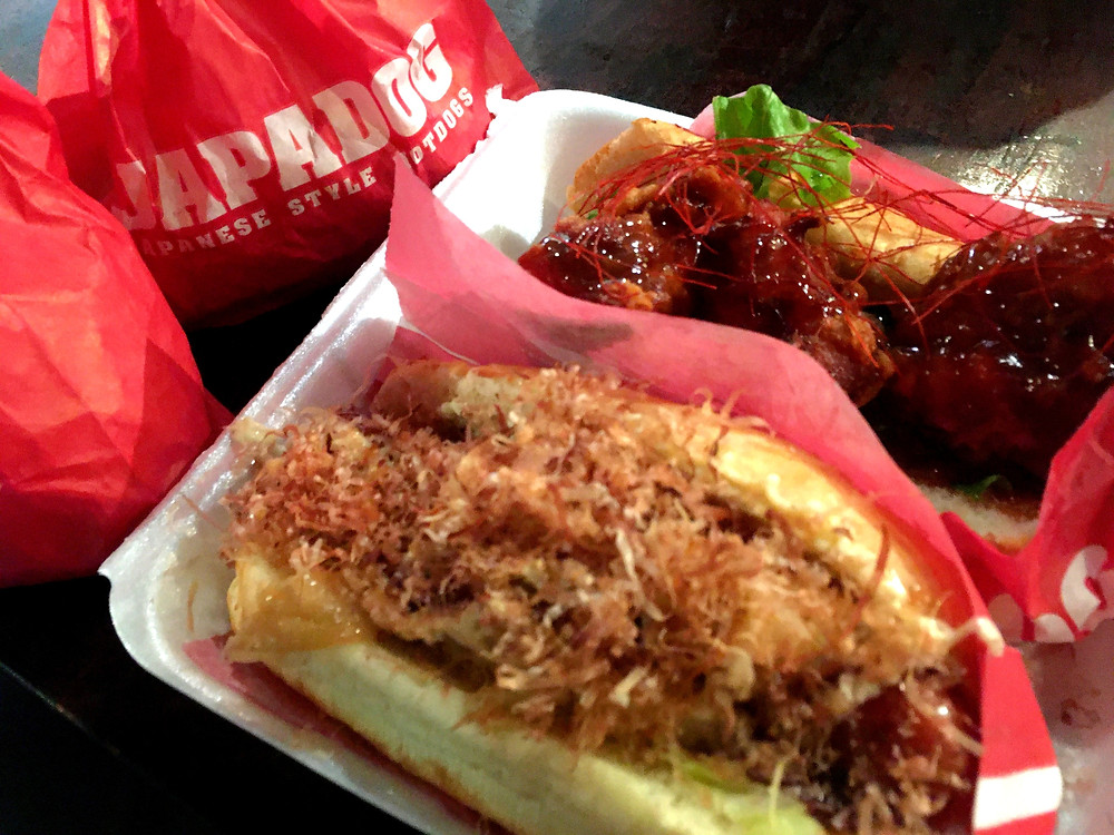 Vancouver Japadog Japanese hot dogs and fries