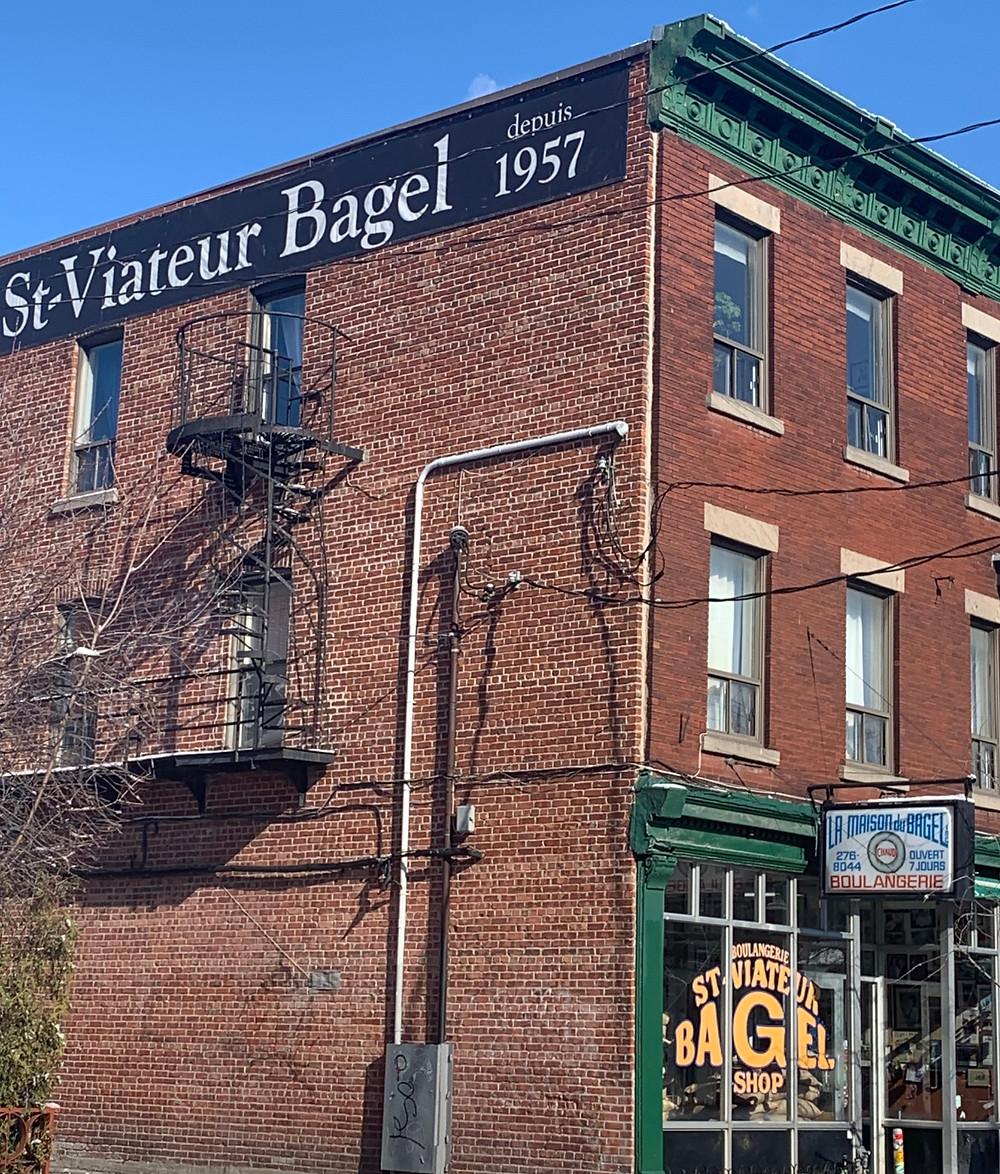 St. Viateur Bagel who has the better Montreal bagel