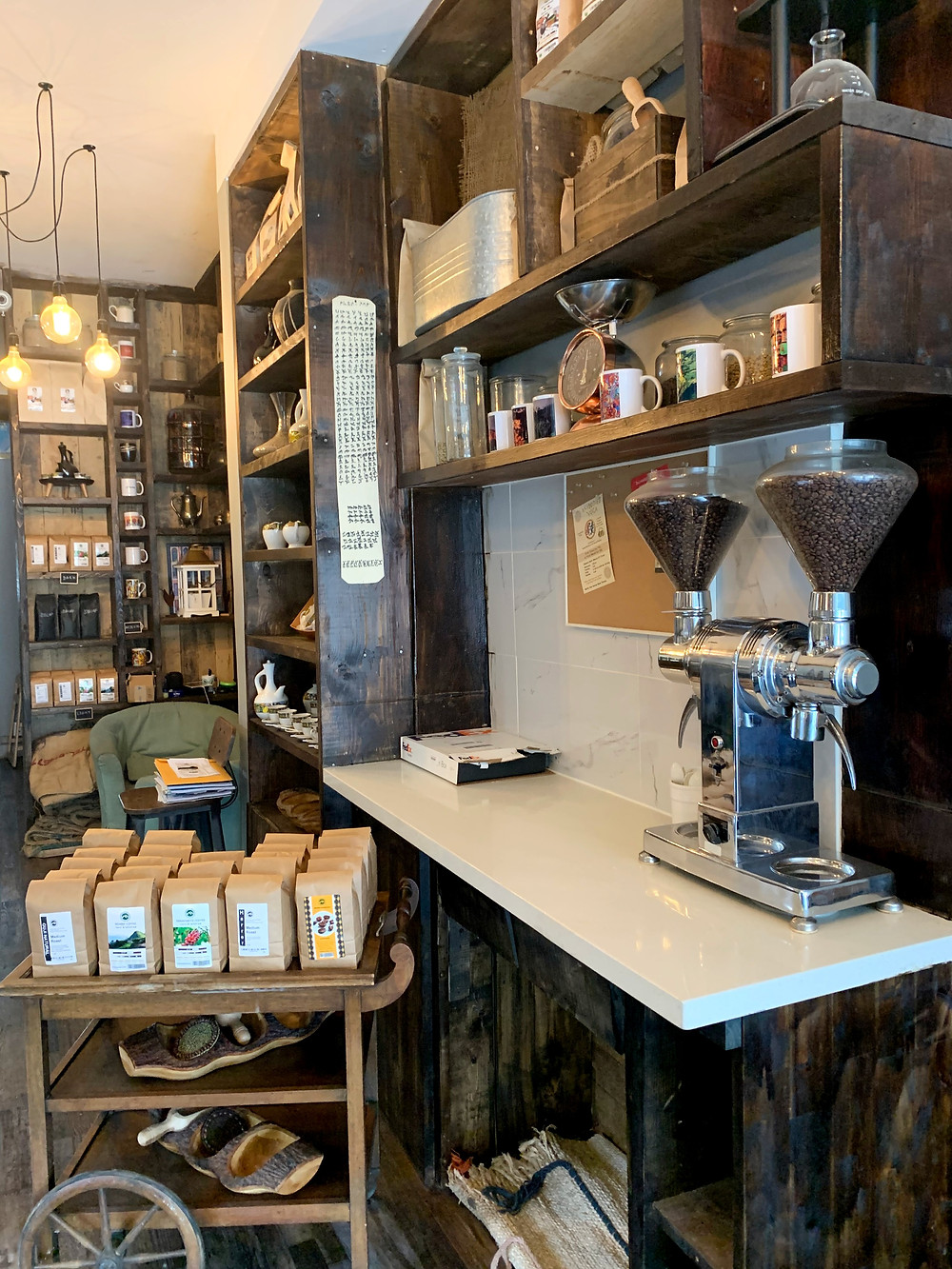 Mofer Coffee wholesale beans and coffee shop
