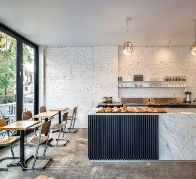 Contra Cafe Toronto interior