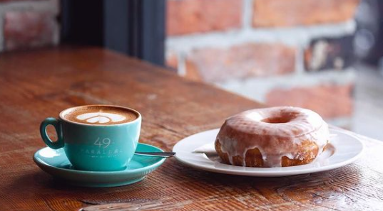 49th Parallel Coffee and Lucky's Doughnuts