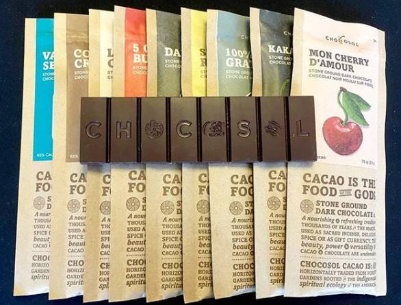 ChocoSol chocolate bar types/varieties