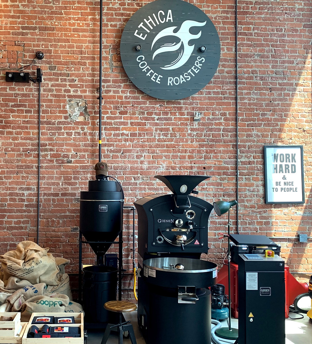 Ethica Coffee Roasters local Toronto coffee roaster